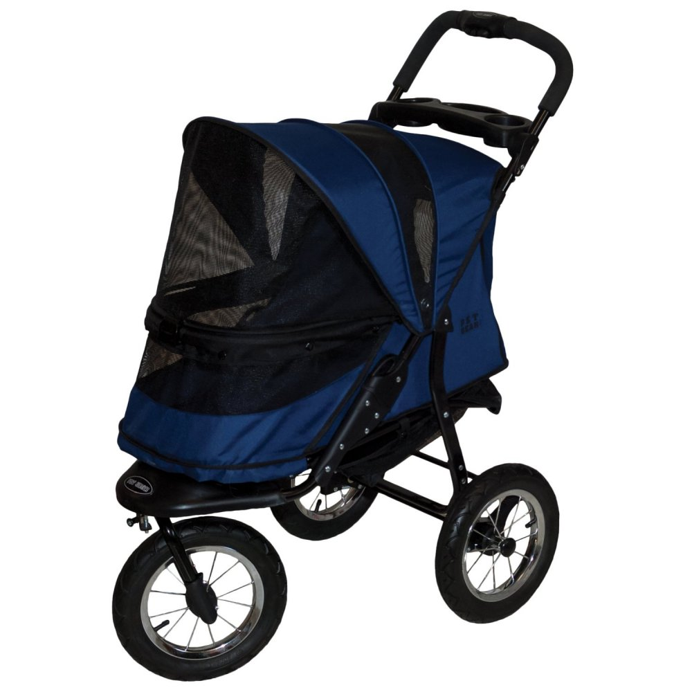 Pet Gear NO-Zip Stroller, Push Button Zipperless Dual Entry, for Single or Multiple Dogs/Cats, Pet Can Easily Walk in/Out, No Need to Lift Pet out of 5 stars $