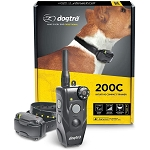 Dogtra 200C – Waterproof 1/2 Mile One-Handed Operation Remote Training Dog E-Collar