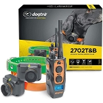 Dogtra 2702T&B 1-Mile 2-Dog Training & Beeper Remote Training E-Collar for Upland Gun Dog
