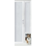 Ideal Pet VIP Vinyl Insulated Pet Patio Door For 92 3/4 to 94 1/2 Inch Doors