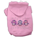 Let it Snow Penguins Rhinestone Hoodie