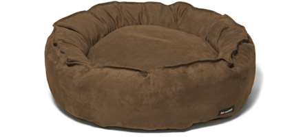 Big shrimpy nest dog bed