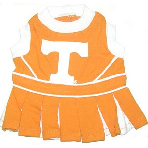 Tennessee Vols Cheerleader Outfit for Dogs