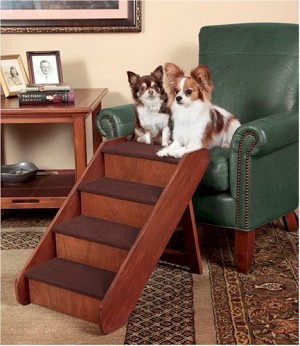 Pup Step Wood Dog Stairs