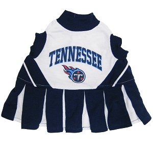 Tennessee Titans NFL Cheerleader Outfit for Dogs