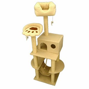 76 Inch Bungalow Cat Tree