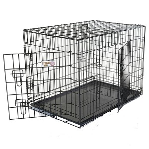 Small Two Door Dog Crate