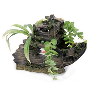 Sunken Gardens Shipwreck Bow - Large Aquarium Decoraton
