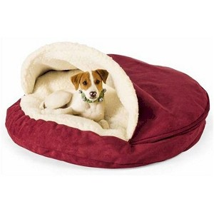 Large Luxury Cozy Cave Dog Bed