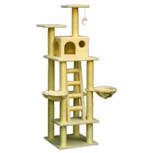 72 Inch Bungalow Cat Tree