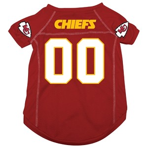 Kansas City Chiefs Deluxe Dog Jersey