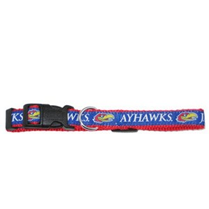 Kansas Jayhawks Dog Collars