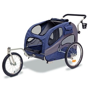 Solvit HoundAbout Converted to a Bicycle Trailer