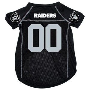 Oakland Raiders Deluxe Dog Jersey