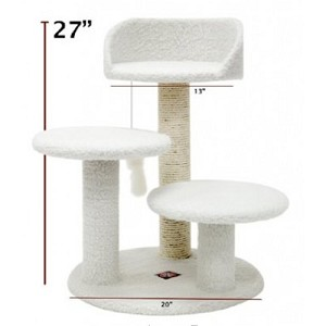 27 Inch Bungalow Cat Tree
