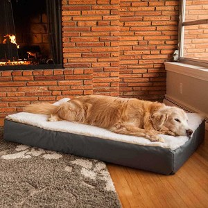 Medium Sherpa Top Pet Bed