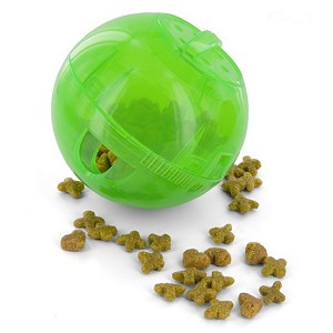 SlimCat Interactive Feeder in Green