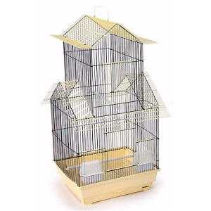 Bejing Keet/Tiel Cage in Yellow