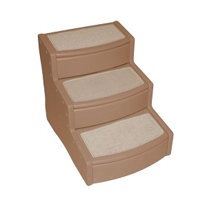 Pet Gear Easy Step III Extra Wide Pet Stairs - Tan