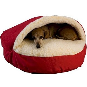 Large Cozy Cave Dog Bed