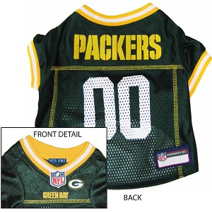Green Bay Packers NFL Dog Jersey