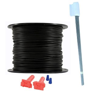 Heavy Duty Dog Fence Wire and Flag Kit - 1000 Feet