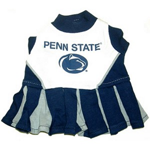 Penn State Cheerleader Outfit for Dogs