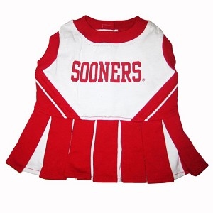 Oklahoma Sooners Cheerleader Outfit for Dogs
