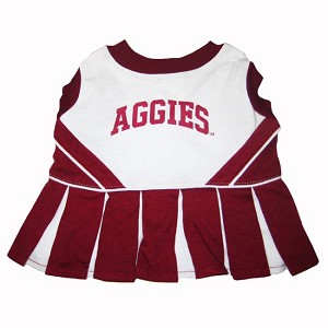 Texas A&M Cheerleader Outfit for Dogs