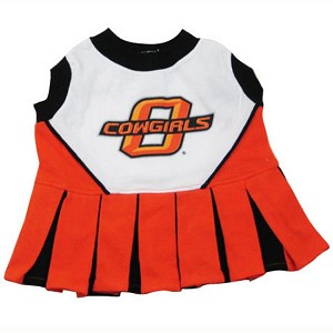 Oklahoma State Cowboys Cheerleader Outfit for Dogs