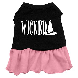 Wicked Dog Dress - Pink