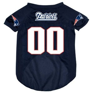 New England Patriots Deluxe Dog Jersey