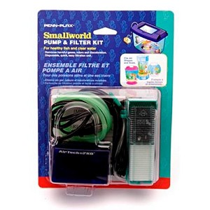 Penn Plax Smallworld Pump & Filter Starter Kit - SWK1UL