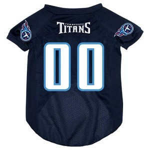 Tennessee Titans Deluxe Dog Jersey