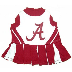 Alabama Cheerleader Outfit for Dogs
