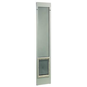 Ideal pet fast fit pet patio door for 81 inch doors for Ideal dog door
